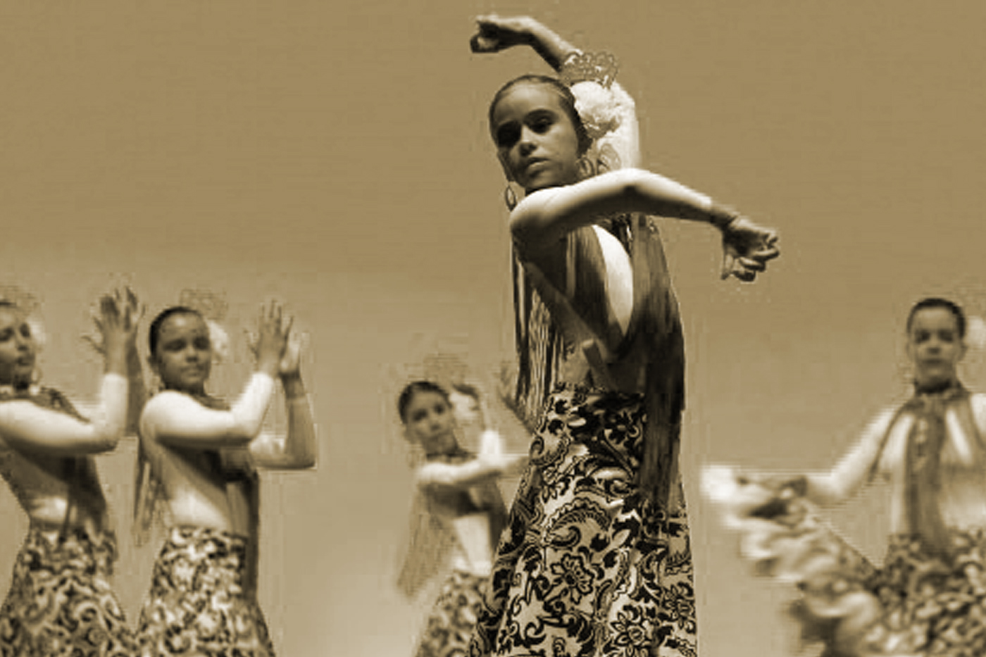 Aprendiendo flamenco en Gim-Danza Silvia
