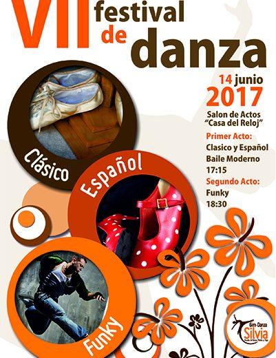 Cartel festival escuela danza